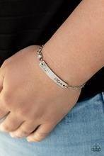 Mom Always Knows - White Bracelet
