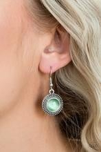 Time To GLOW Up! - Green Earrings