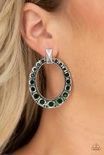 All For GLOW - Green Post Earrings