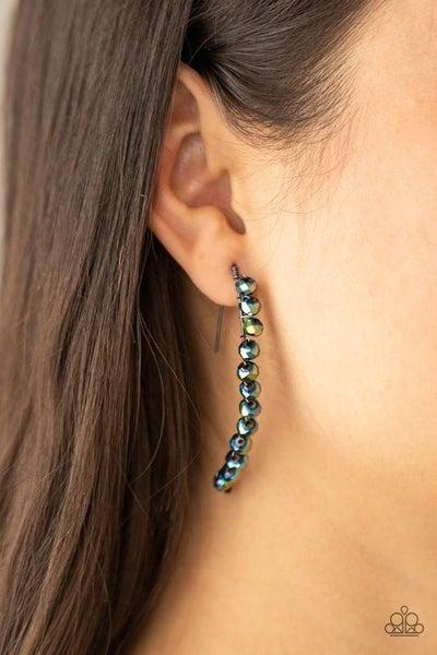 GLOW Hanging Fruit - Multi- Oil Spill Earrings
