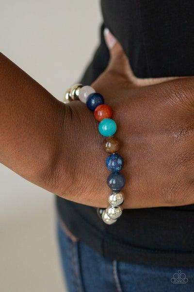 Reflection - Multicolor Bead Bracelet