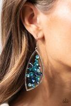 Sweetly Effervescent - Blue Earrings