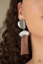 Insta Inca - Brown Post Earrings