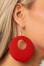Island Hop - Red Earrings