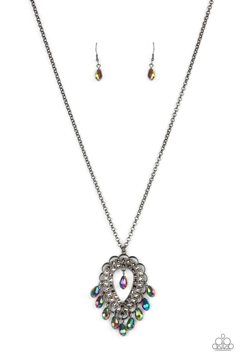 Teasable Teardrops - Oil Spill Necklace & Earrings - May 2021 Life of the Party Exclusive