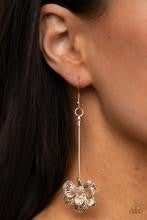 Opulently Orchid - Rose Gold Earrings