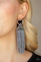 Oh My GIZA - Silver Post Earrings