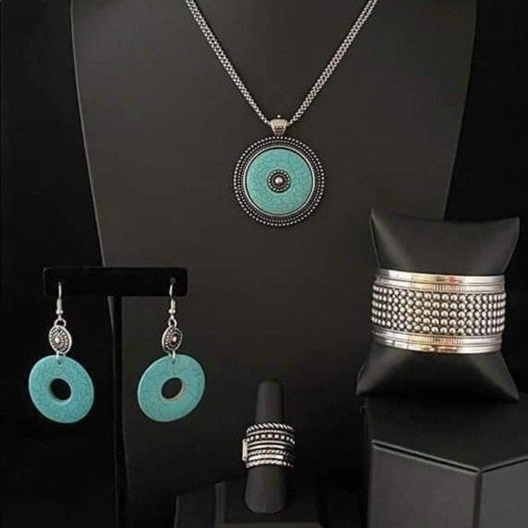 Simply Santa Fe - Silver & Turquoise Complete Trend Blend - April 2021