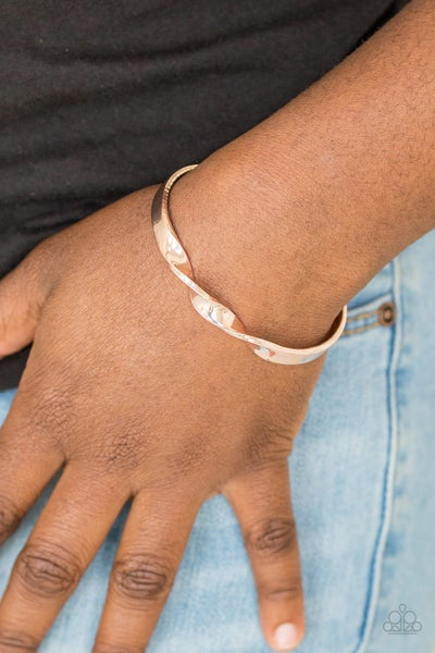 Pre-Sale - Traditional Twist - Rose Gold Twisted Cuff Bracelet