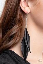 West Side Western - Black Earrings