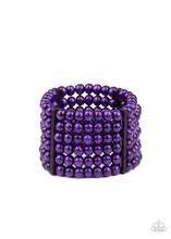 Diving in Maldives - Purple Bracelet