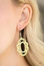 Mantras and Mandalas - Yellow  Earrings