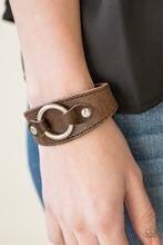 Western Wrangler - Brown Bracelet