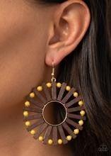 Solar Flare - Yellow Earrings