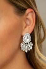 A Breath of Fresh HEIR - Black Post Earrings