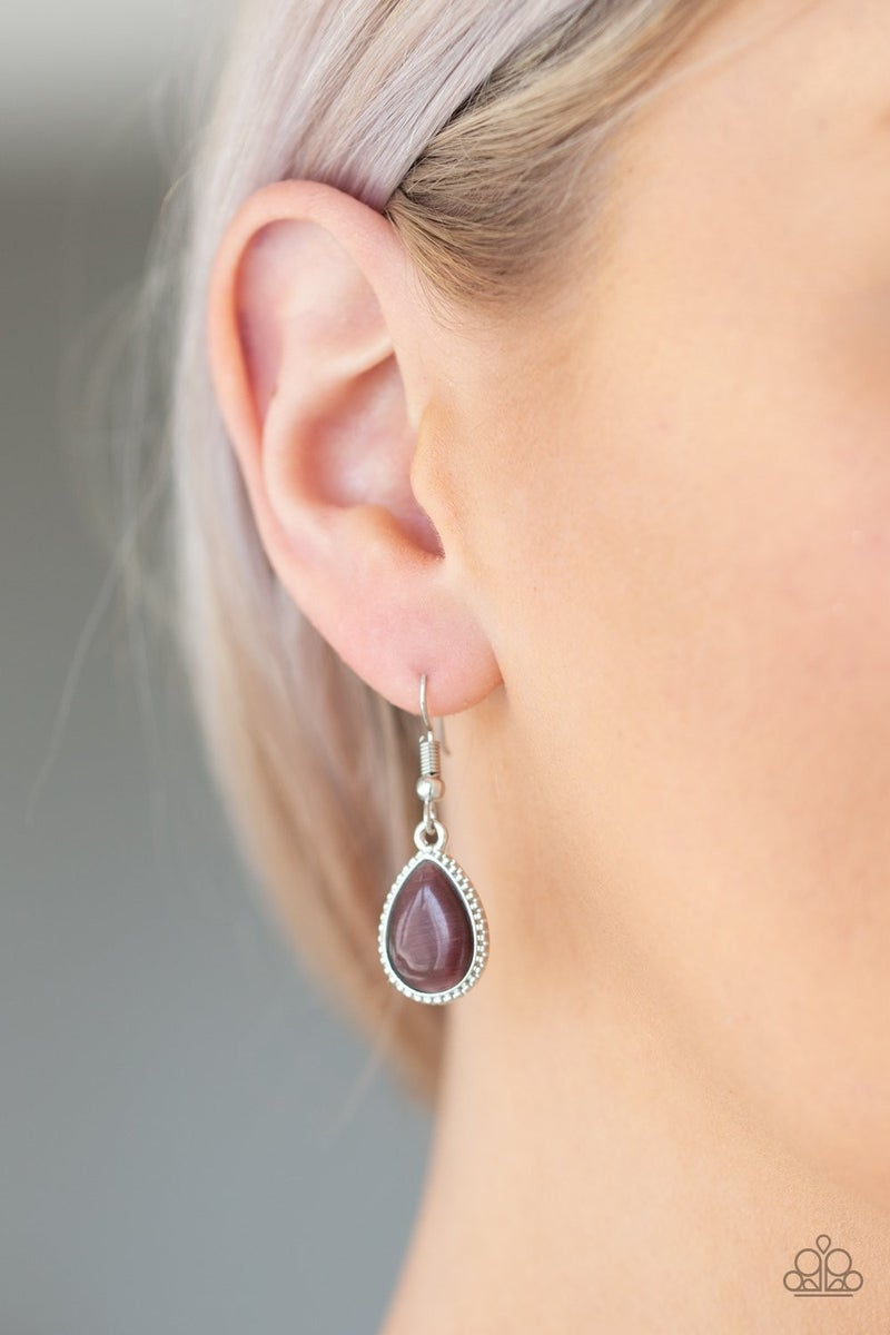 East Coast Essence & Once Upon A MARITIME - Silver with Purple Moonstones Set