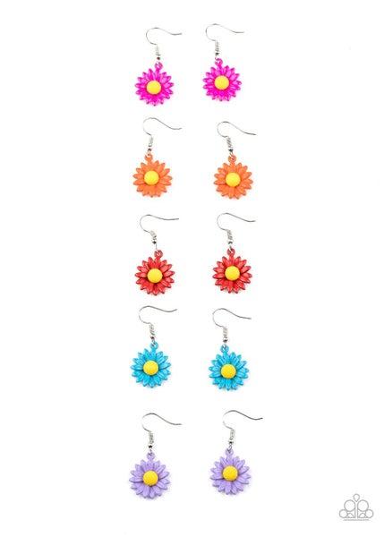 Daisy Flower Kids Earrings