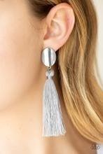 Va Va PLUME - Silver Post Earrings