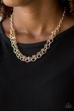 Block Party Princess - Gold Necklace