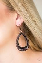 Right As REIGN - Copper Earrings