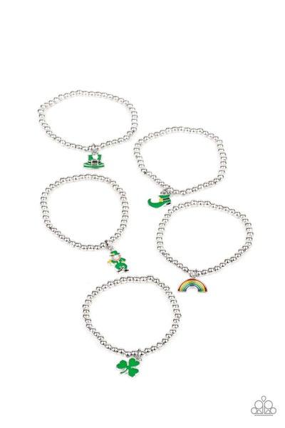 Pre-Sale Kid's or Mayra/Claribel sized stretchy bracelets for St. Patrick's Day