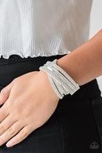 Rock Star Attitude - White Bracelet