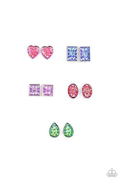 Pre-Sale - Iridescent & Glitzy Kid's Earrings