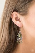 I Better Get GLOWING - Green Earrings