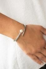 Industrial Impact - White Bracelet