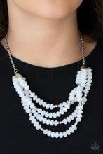 Best POSH-ible Taste - White Necklace