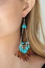 Haute Hawk - Blue Earrings
