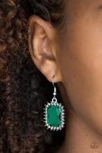 Downtown Dapper - Green Earrings