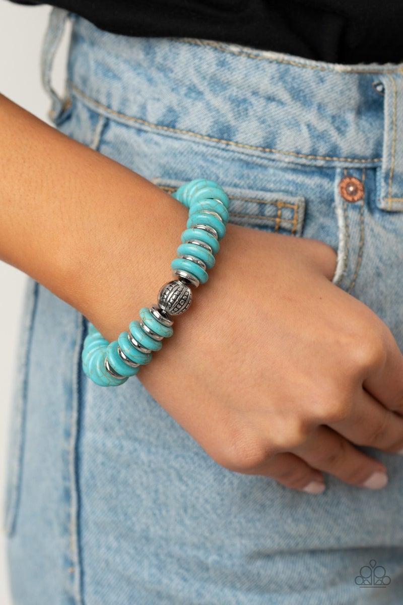 Pre-Sale Desert Revival & Desert Revival - Silver & Turquoise Neclace, Earrings & Bracelet Set