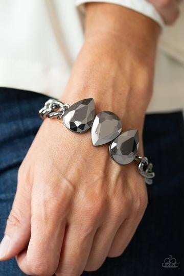 Bring Your Own Bling - Black Bracelet