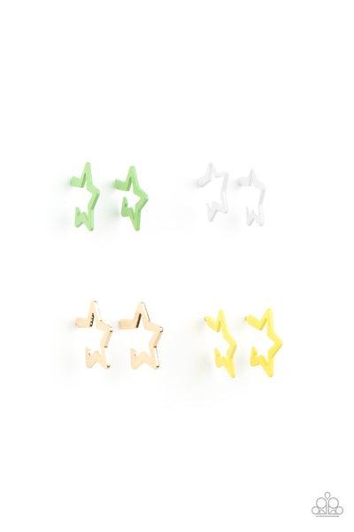 Star Hoops - Kids Earrings