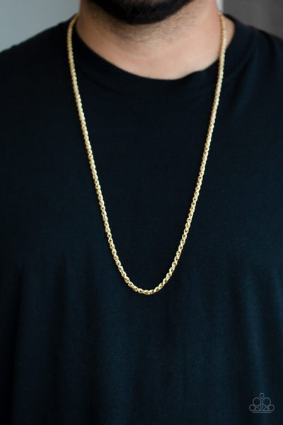 Pre-Sale Jump Street - Gold Wheat Chain Necklace (no earrings)