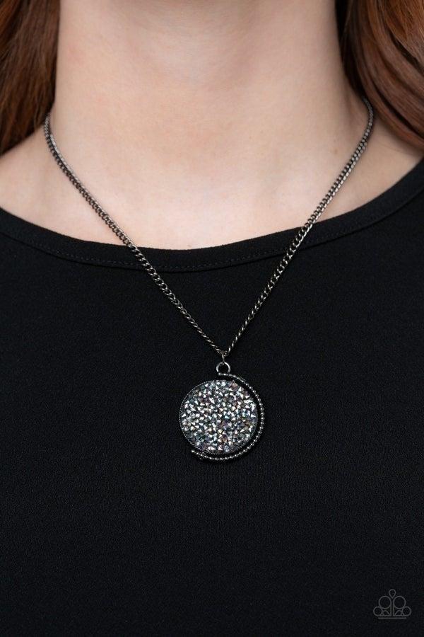 My Moon and Stars, Stellar Escape & Confetti Princess - Oil Spill Necklace, Bracelet & Hair Bow 3 piece Set