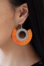 Fringe Fanatic - Orange Earrings