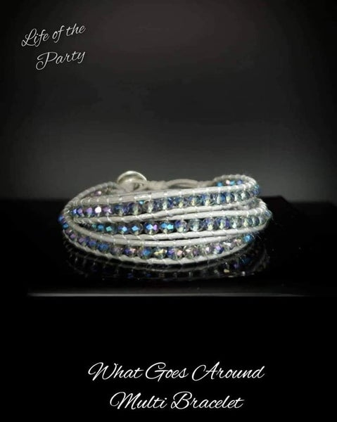 Pre-Sale What Goes Around - Oil Spill Urban - April 2021 Life of the Party Bracelet