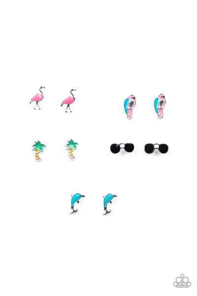 Dainty Tropical Kid's Earrings