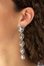 Drippin In Starlight - Silver Post Earrings