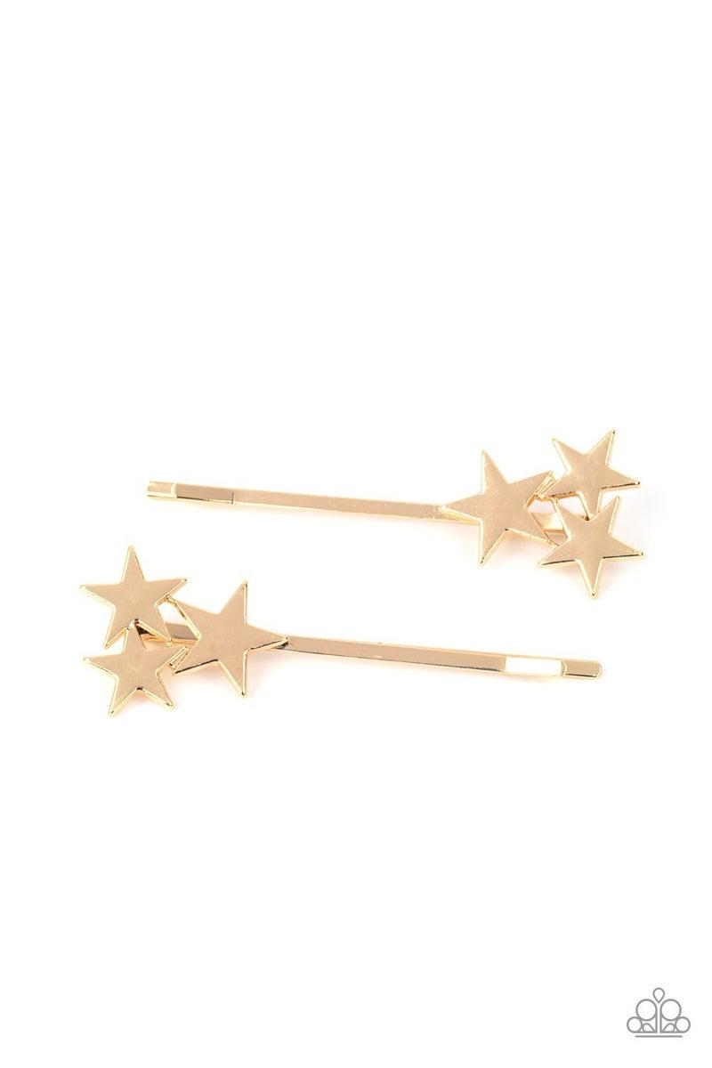 Pre-Order Suddenly Starstruck - Gold Stars on a Bobby Pin