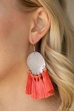 Tassel Tribute - Orange Earrings