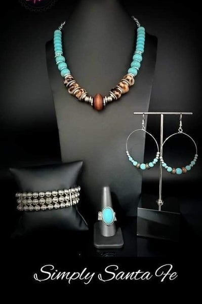 Simply Santa Fe - Silver with Turquoise Complete Trend Blend 03-20