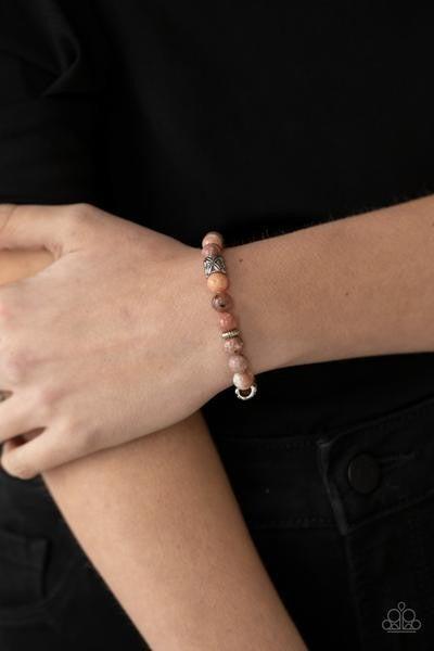 Garden Zen -Pink Bracelet