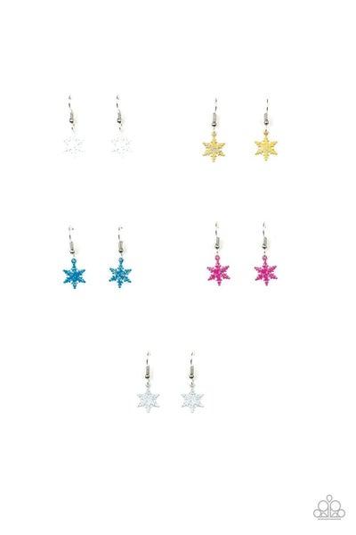 Kid's Snowflake Earrings
