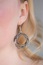 Elegantly Entangled - Silver Earrings