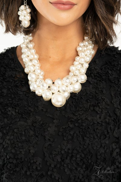 Regal - White Pearl - 2021 Zi Collection Necklace & Earrings