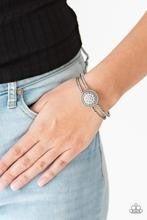 Definitely Dazzling - White Bracelet