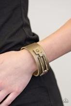 Street Glam - Brass Bracelet